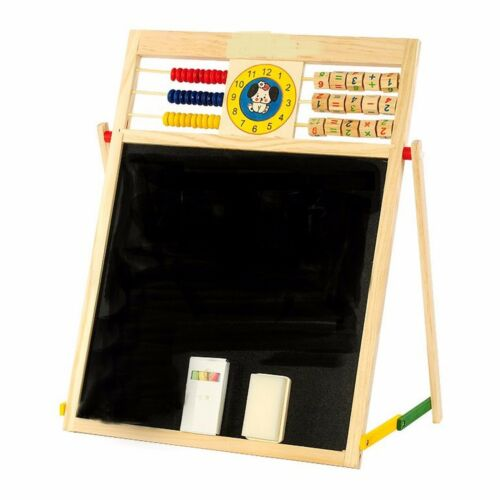 Children Chalk Board White board Double sided Easel Creative Read Writing Draws