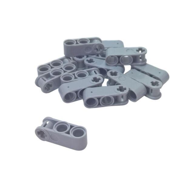 New LEGO Lot of 2 Black 3L Technic Mindstorms Connectors with 2 Pins