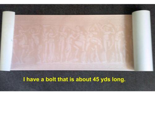 Bacchanalia #4 $4 SAMPLE Waterhouse  Historic Reproduction Border Mythology
