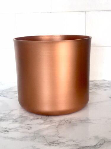 Plant Pot Planter Copper Colour Indoor Use Small