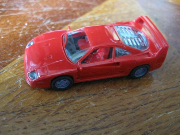 Competent Ferrari F40 Rouge Herpa 1/87 Neuve En Boîte Mib 2510