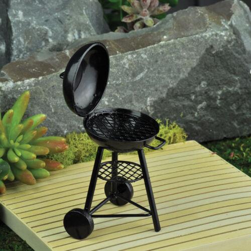 Miniature Fairy Garden Mini Kettle BBQ Grill GO 16886 Faerie