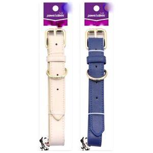 Leatgerette-Pet-Dog-Cat-Collar-Safety-adjustable-Collar-Small-Medium-Large