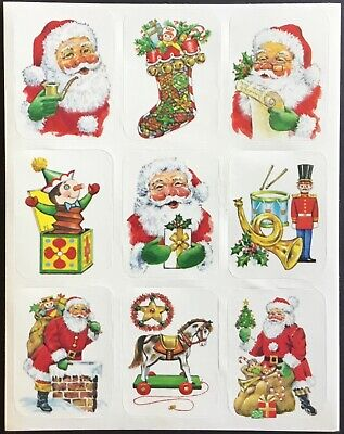 Vintage Eureka Stickers Mint Condition!! Christmas