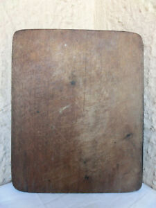 Old-Antique-primitive-Wood-Wooden-Bread-Cutting-Board-Dough-Peel-Paddle-Plate