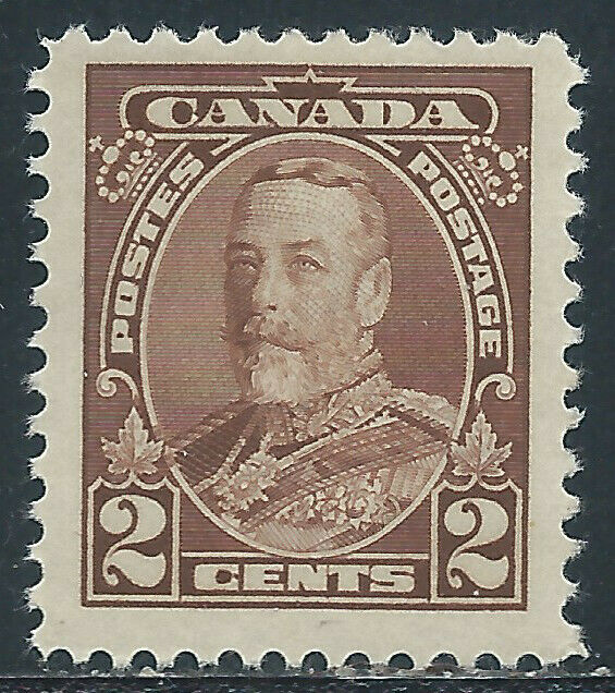 Canada #218(4) 1930 2 cent brown KING GEORGE V MNH