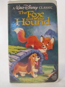 Walt Disney Classic The Fox And The Hound Black Diamond Vhs 765362041039 Ebay