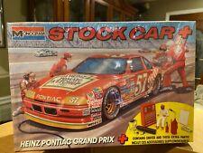 Vintage 1990 Monogram 1:24 Model Kit Heinz Pontiac Grand Prix Stock