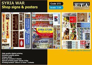 1//35 la syrie guerre-shop Signes