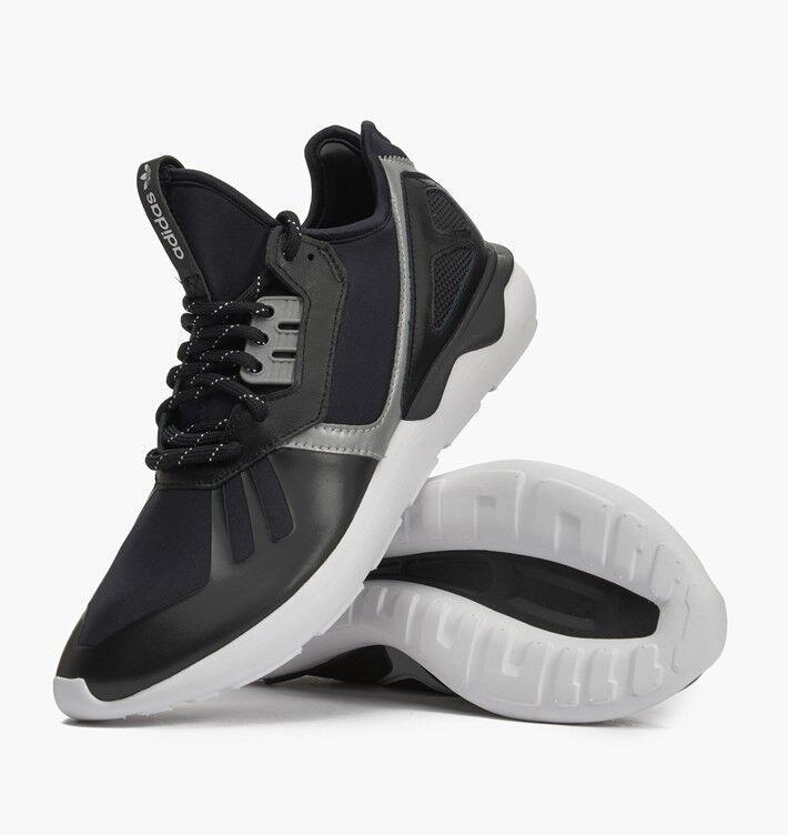 Chaussures Adidas Tubular Runner Hommes Core Noir / Blanc / Gris B25525 Sz US 10