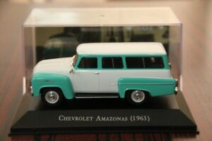 Altaya-1-43-IXO-Chevrolet-Amazonas-1963-Diecast-Models-Cars-Hobbies-Collection