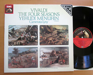 ASD-3964-Vivaldi-The-Four-Seasons-Yehudi-Menuhin-Camerata-Lysy-EMI-Digital-NM