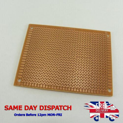 Single Sided 7cm x 9cm Strip Board PCB Prototype Bakelite Circuit Universal B61