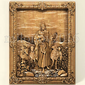 3d-stl-Model-for-CNC-Router-Artcam-Cut3d-Aspire-Jesus