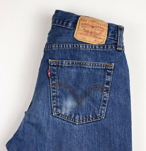 Levi-039-s-Strauss-amp-Co-Hommes-751-Slim-Jeans-Jambe-Droite-Taille-W33-L30-ARZ1481
