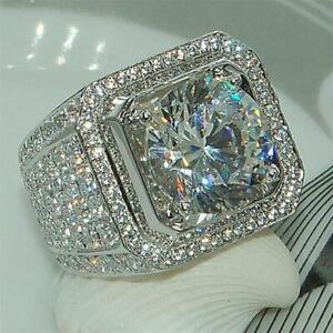 Ring-Gr-56-58-62-64-66-Fingerring-Herrenring-Silberring-Silber-gestempelt