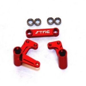 NEW-ST-Racing-Traxxas-Bandit-Slash-Aluminum-Steering-Bellcrank-Set-w-Beari