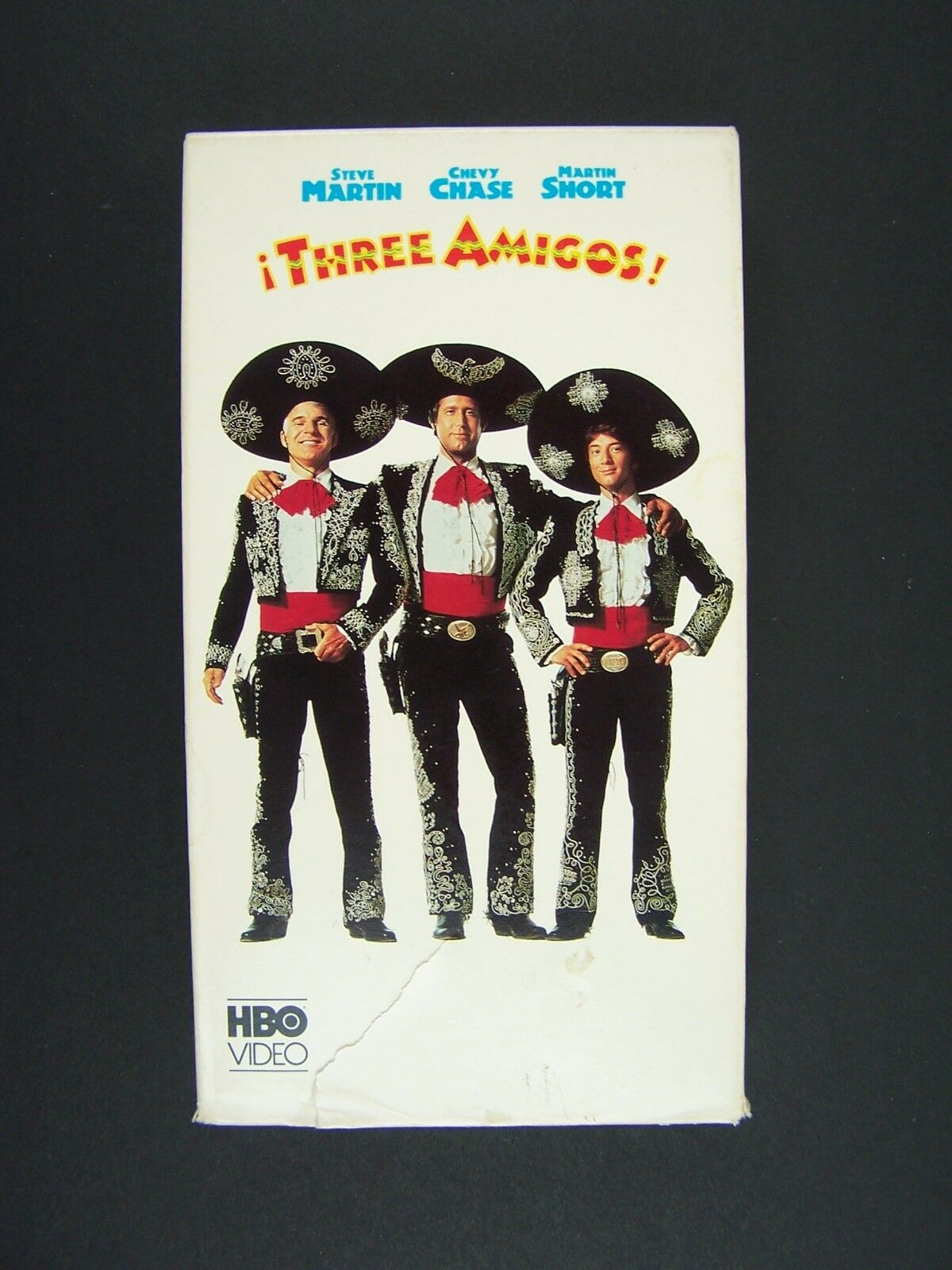 Three Amigos VHS Steve Martin, Chevy Chase, Martin Shor