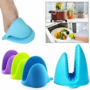 UK-Kitchen-Heat-Resistant-Grip-Baking-BBQ-Mitt-Oven-Pot-Anti-slip-Silicone-Glove