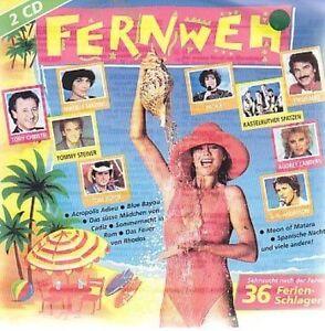 Nostalgie-36-vacances-schlager-1995-Mireille-Mathieu-Leonard-paola-sable-2-CD