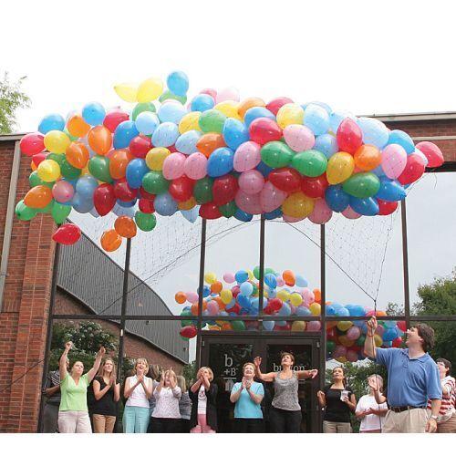 Burton & Burton Net Prestrung Balloon 14'X17'