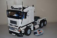NEW LEGO TECHNIC WHITE 8258 V10 CUSTOM TRUCK w/ Power Functions 8882/8883/8884
