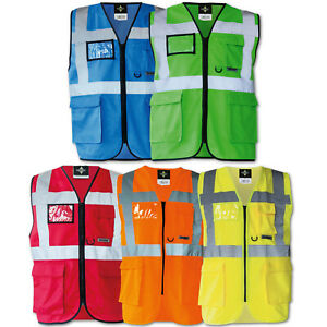 Clothing, Shoes & Accessories James & Nicholson Kinder Safety Vest Sicherheitsweste Arbeitsweste Warnweste Kids' Clothing, Shoes & Accs