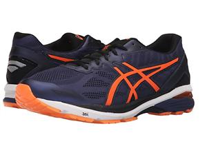 ASICS T6A3N.4930 GT-1000 5 Mn's (M) Indigo Blue/Orange Mesh Running Shoes