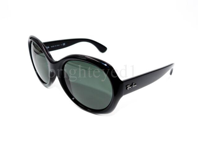 8c4df904b0 Ray-Ban Rb4191 601 71 Black Frame Green Classic 57mm Lens Sunglasses ...
