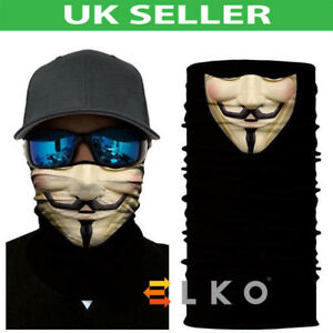 Usage-Multiple-Skulls-Motard-Balaclava-cou-tube-chaud-Snood-Echarpe-Masque-Halloween