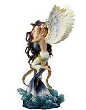 "13.5"" Impossible Love By Selina Fenech Statue Sculpture Mermaid Angel Ocean"
