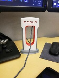 Image Is Loading Tesla Printed Desktop Supercharger Phone Charger Type