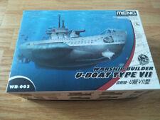 Meng Warship Builder U-Boat Type VII Cartoon Ship # WB-003