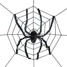 Sunstar Industries Giant Spider with Spderweb Halloween Decoration Prop