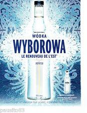 PUBLICITE ADVERTISING 096  2005   la Wodka Wyborowa