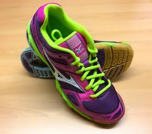 3 Bolt Women's Shoe Mizuno Yellow Pink Wave qtpTOwxA