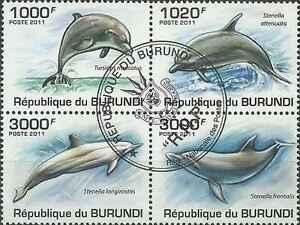 Timbres-Dauphins-Burundi-BF152-o-annee-2011-lot-5822-cote-18-euros