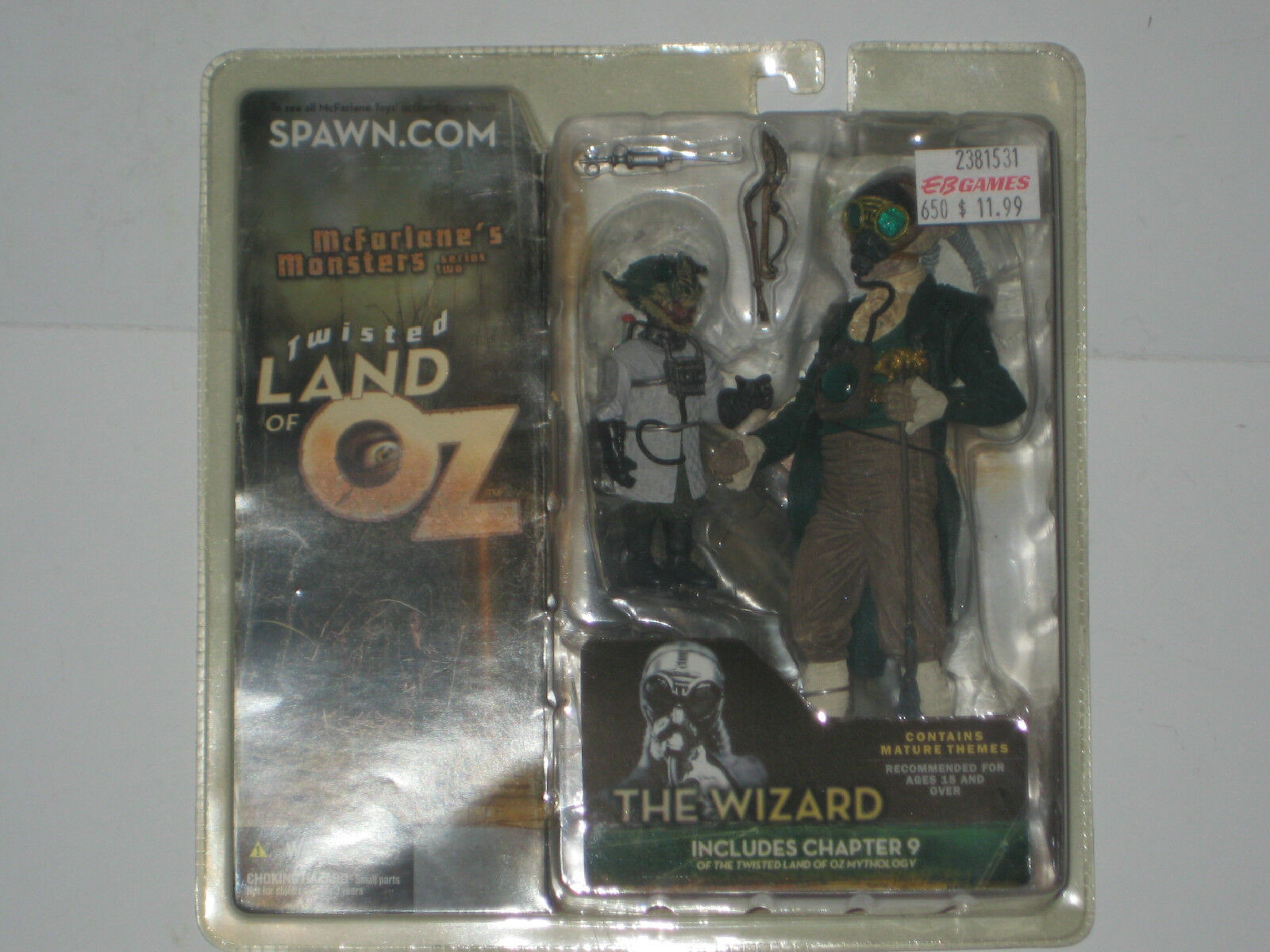 Spawn McFarlane 79 - The WIZARD - TWISTED LAND of OZ  - RARE VARIANT 2003