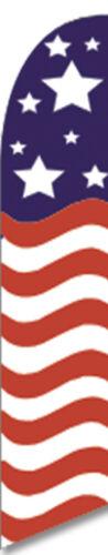 Horizontal Stars /& Stripes Flag # WFFL-0047