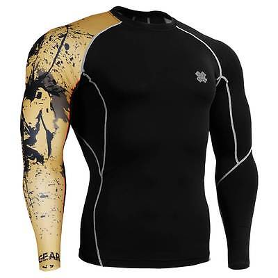 FIXGEAR CP-B32 Skin Tights Compression Under Shirts Fitness GYM MMA Workout