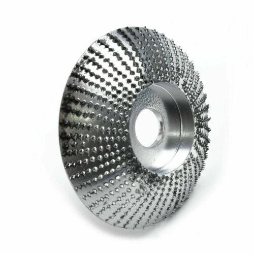 1x Holzschleifen Carving Shaping Disc Für Winkelschleifer Schleifscheibe 85mm XS