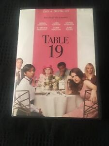 Details About Table 19 Dvd And Digital Hd Cute Movie With Great Actors Watched One Time