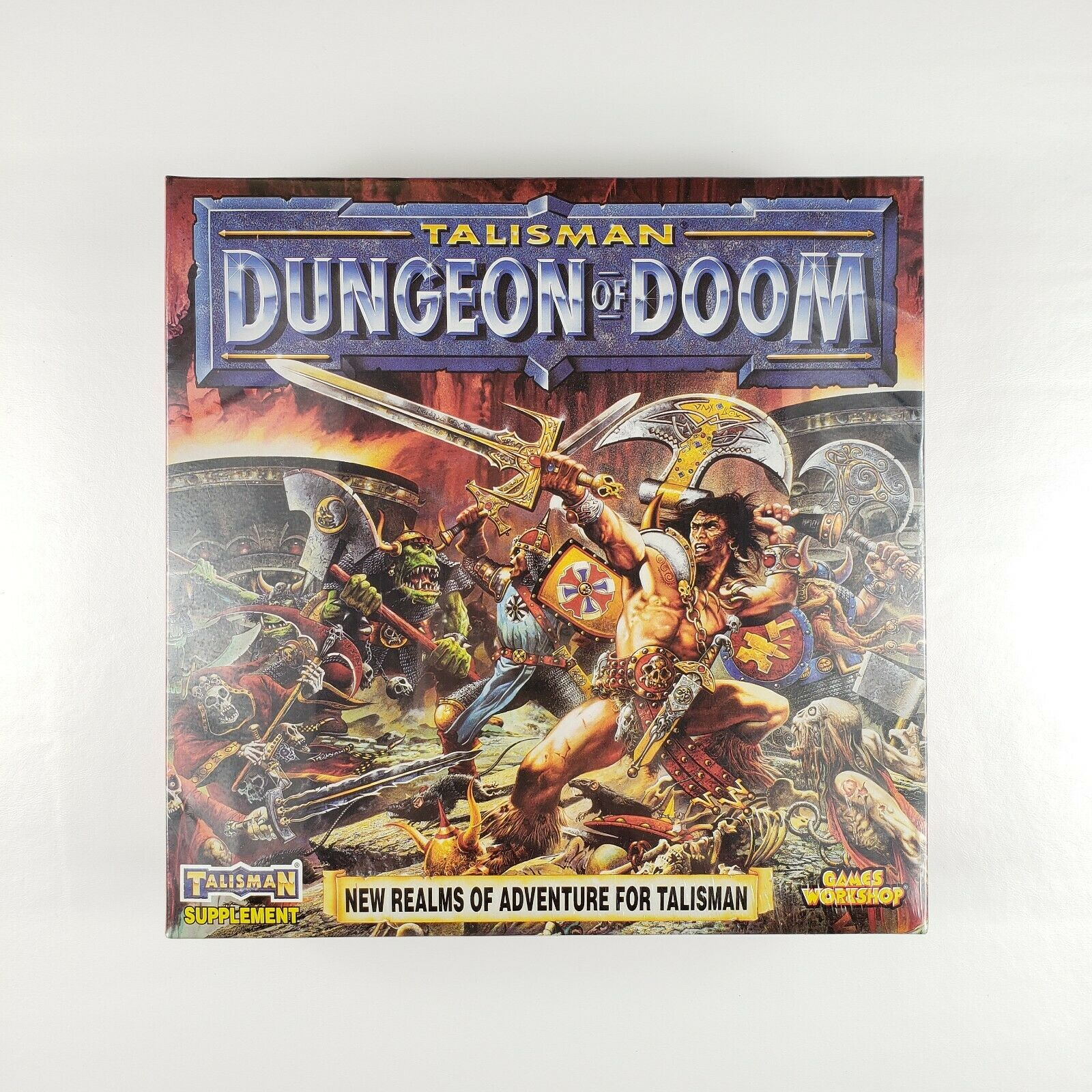 Talisman 3rd Edition Dungeon of Doom Expansion Games Workshop NEW 1994 Sealed