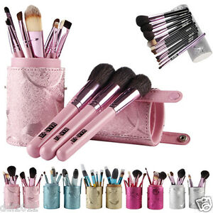 12PCS-Makeup-Brush-Set-Eye-Shadow-Make-Up-Brushes-With-Leather-Cup-Holder-Case