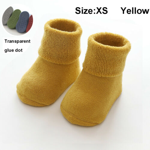 Toddler First Walkers Booties Cotton Floor Socks Baby Socks Infant Crib Shoes