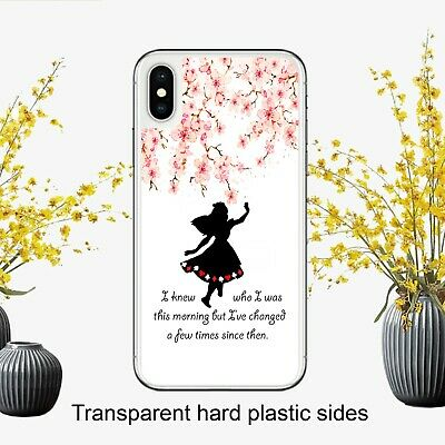Disney Alice In Wonderland Quote Fan Case Cover for iPhone Samsung Huawei Google | eBay