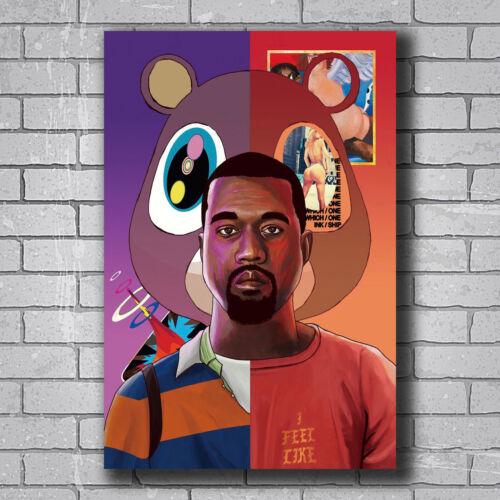 New Kanye West Yezzy USA Grammy Custom Poster Print Art Decor T-458