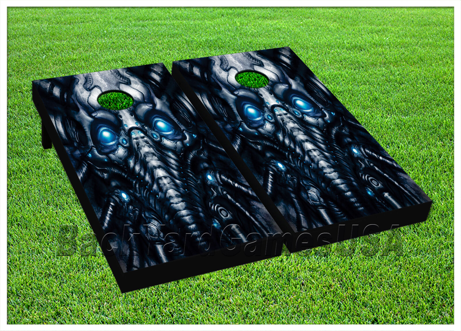ALIEN PILOT CORNHOLE BEANBAG TOSS GAME w Bags Game  Boards ALIEN S01433  the latest