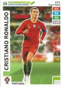 Panini Adrenalyn Road to World Cup 2018 Team Mates POR17 Cristiano Ronaldo