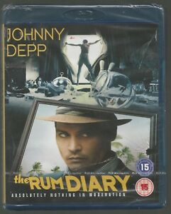 THE-RUM-DIARY-sealed-new-UK-BLU-RAY-Johnny-Depp